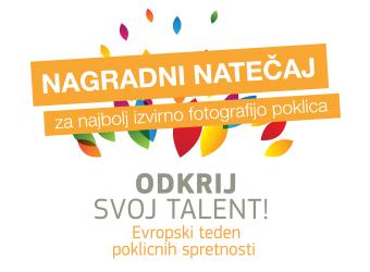 """Fotografski natečaj """"Odkrij svoj talent 2017"""""""