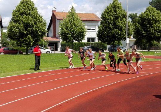 Atletika – območno tekmovanje