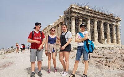 Erasmus+ izmenjava učencev v Grčiji