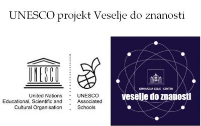 UNESCO projekt Veselje do znanosti