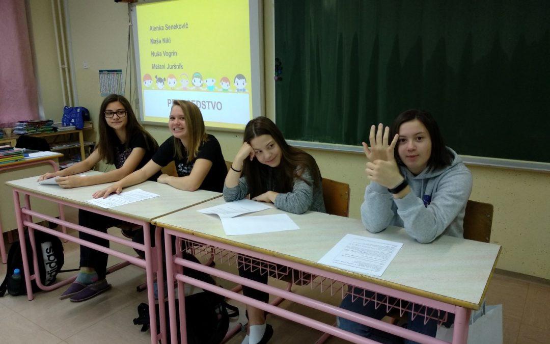 Zaključek šolskega otroškega parlamenta