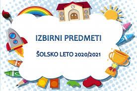 Izbirni predmeti v šol. letu 2020/21